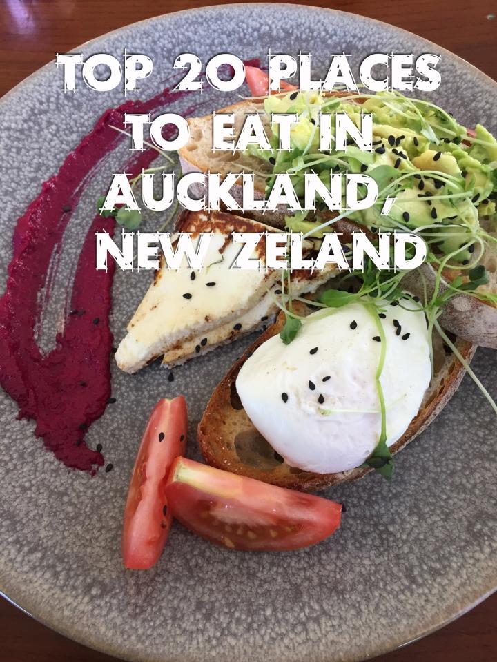 Top 20 Restaurants in Auckland,NZ